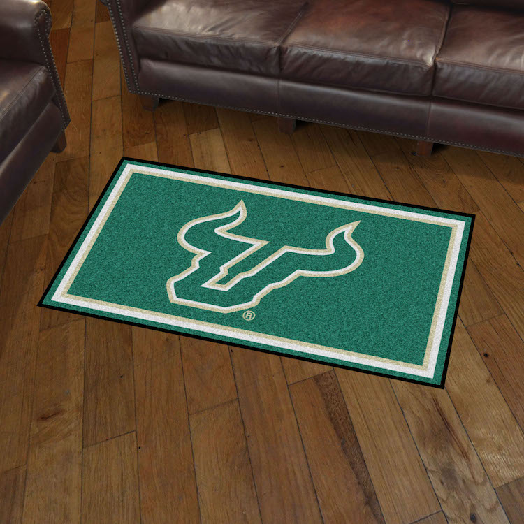 South Florida Bulls 3x5 Area Rug