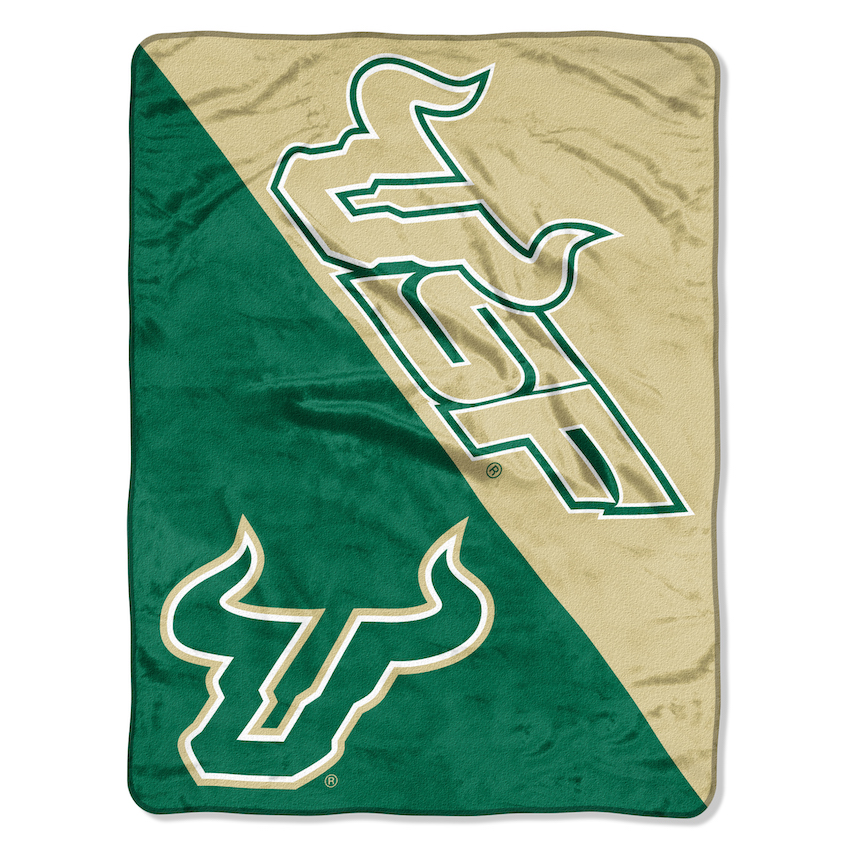 South Florida Bulls Micro Raschel 50 x 60 Team Blanket