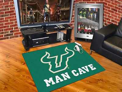South Florida Bulls ALL STAR 34 x 45 MAN CAVE Floor Mat