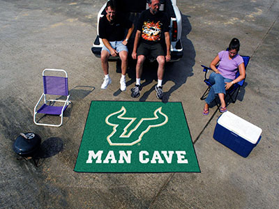 South Florida Bulls MAN CAVE TAILGATER 60 x 72 Rug