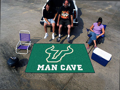 South Florida Bulls UTILI-MAT 60 x 96 MAN CAVE Rug