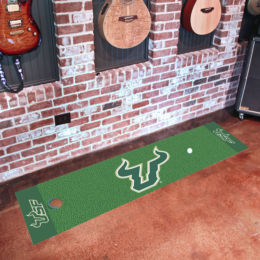 South Florida Bulls Putting Green Mat 18 x 72