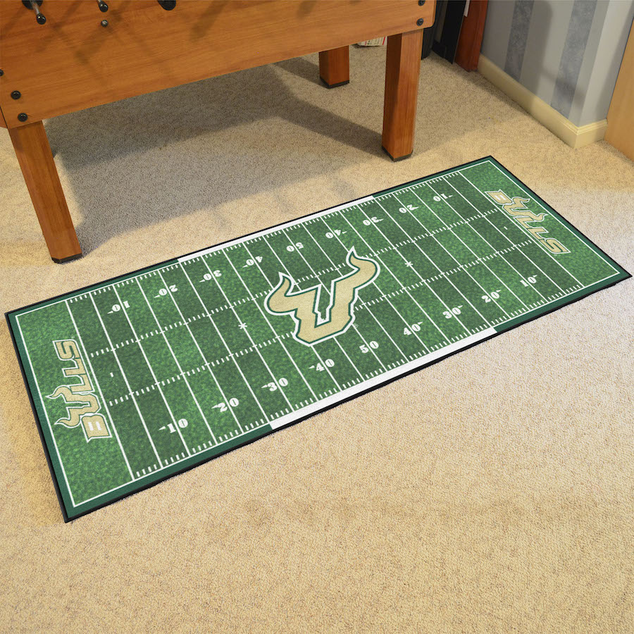 South Florida Bulls 30 x 72 Football Field Carpet Runner