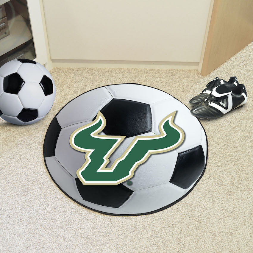 South Florida Bulls SOCCER BALL Mat