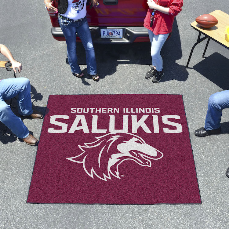 Southern Illinois Salukis TAILGATER 60 x 72 Rug