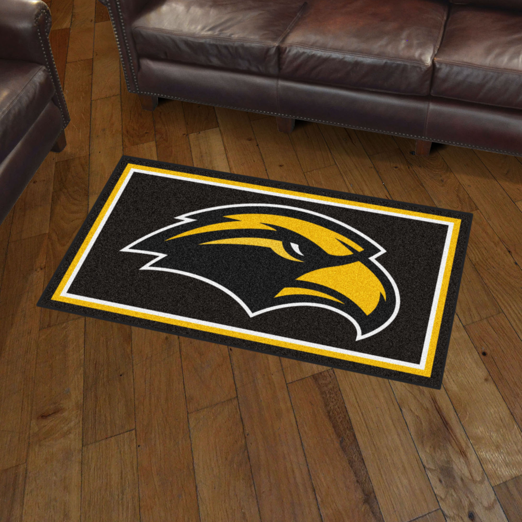 Southern Mississippi Golden Eagles 3x5 Area Rug