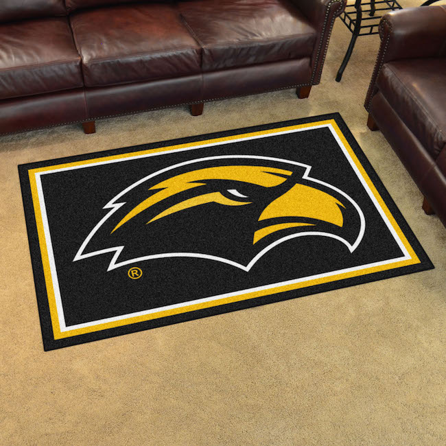 Southern Mississippi Golden Eagles 4x6 Area Rug