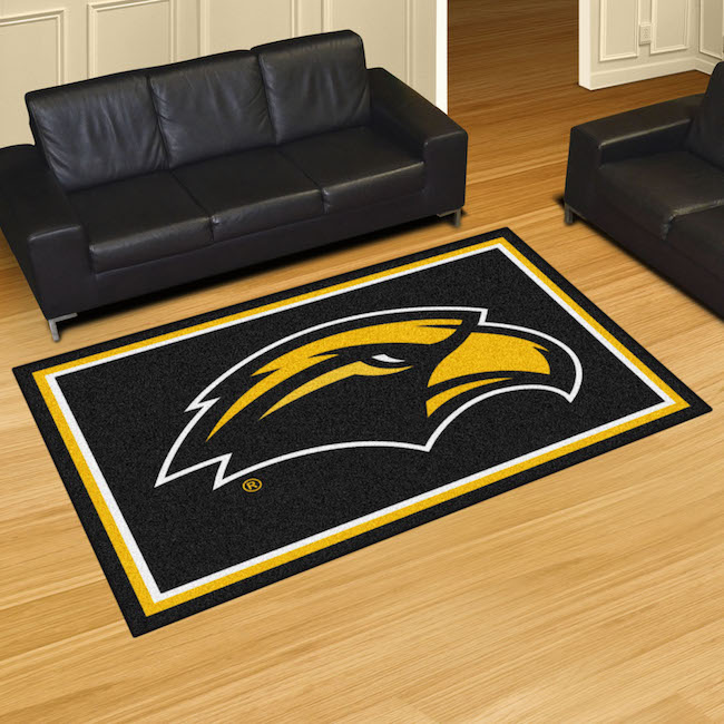 Southern Mississippi Golden Eagles 5x8 Area Rug