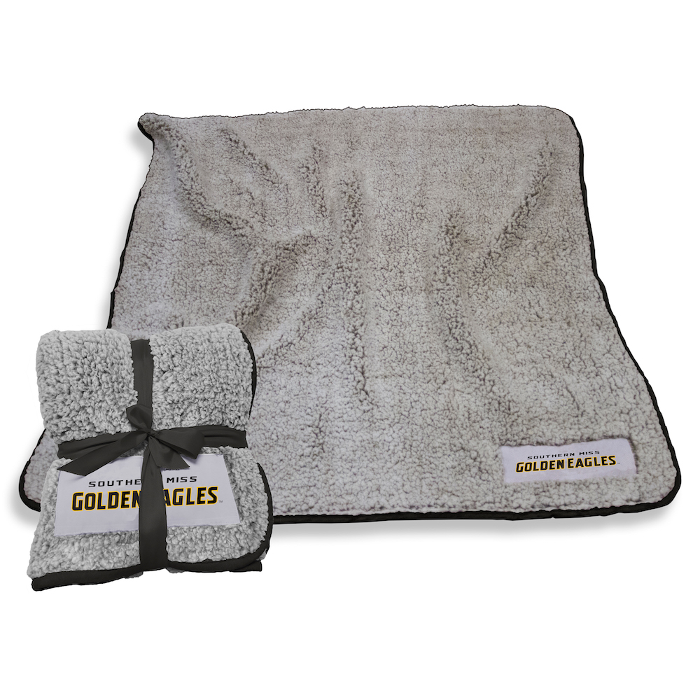 Southern Mississippi Golden Eagles Frosty Throw Blanket