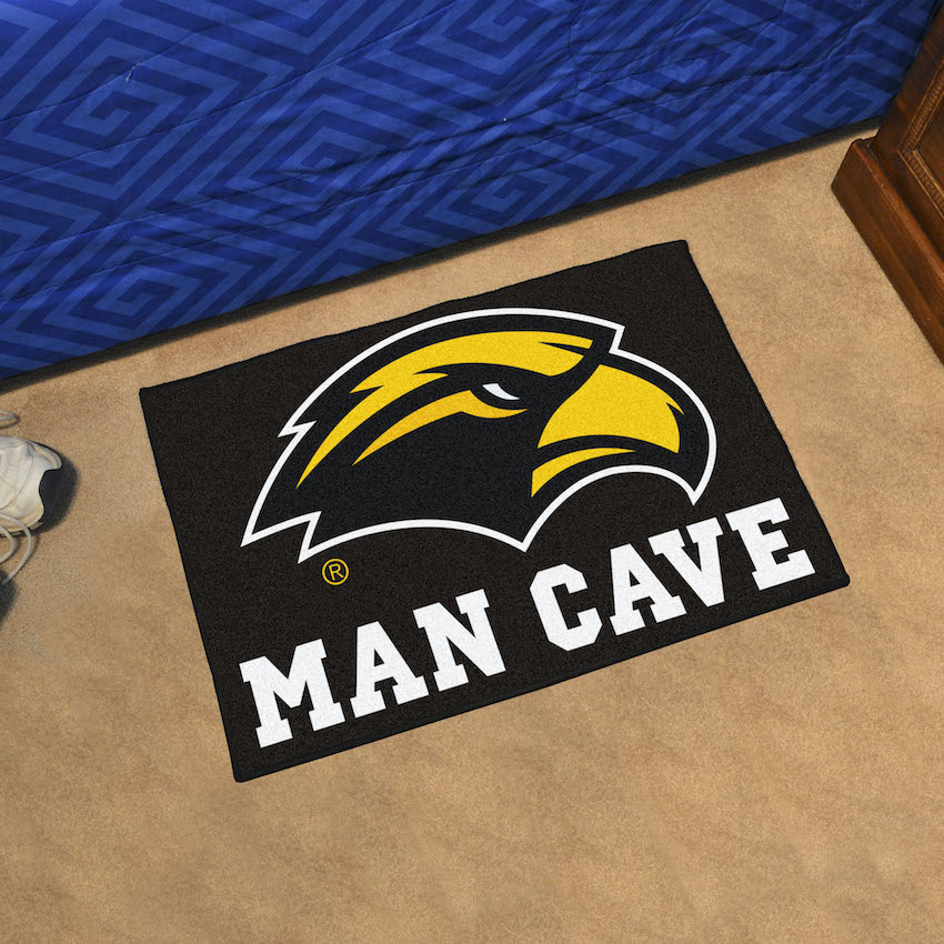 Southern Mississippi Golden Eagles MAN CAVE 20 x 30 STARTER Floor Mat