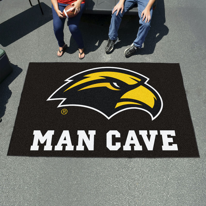 Southern Mississippi Golden Eagles UTILI-MAT 60 x 96 MAN CAVE Rug