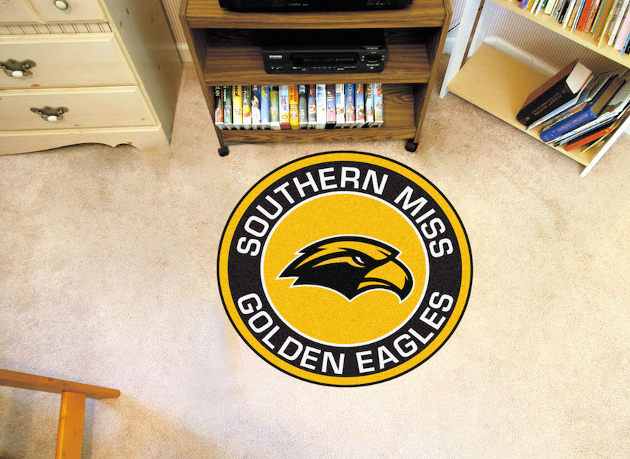 Southern Mississippi Golden Eagles Roundel Mat