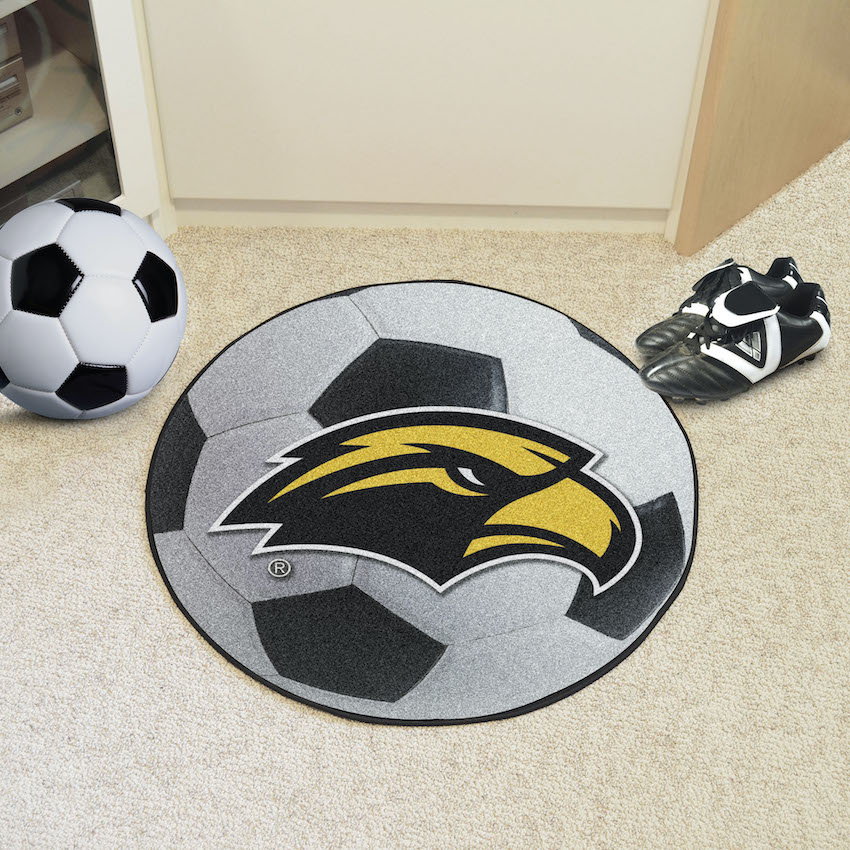 Southern Mississippi Golden Eagles SOCCER BALL Mat
