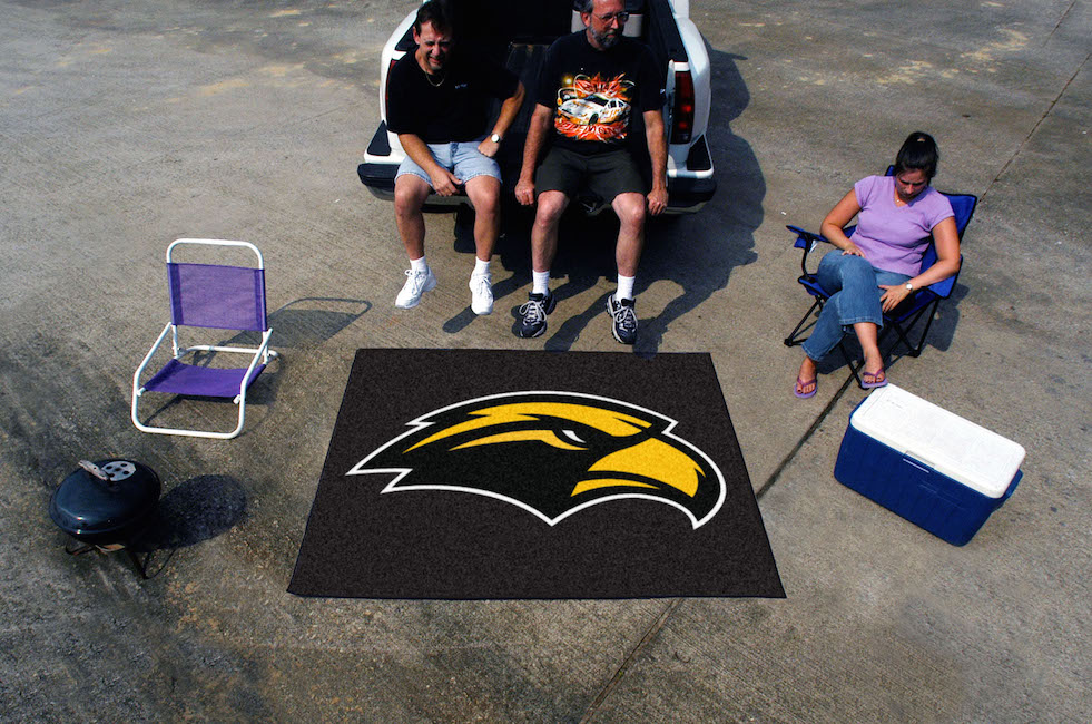 Southern Mississippi Golden Eagles TAILGATER 60 x 72 Rug