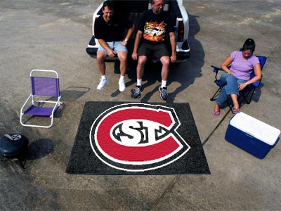 St. Cloud State Huskies TAILGATER 60 x 72 Rug