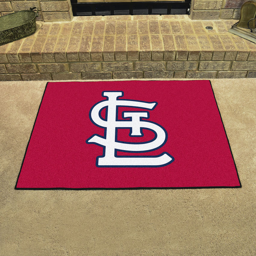 St. Louis Cardinals LOGO ALL STAR 34 x 45 Floor Mat