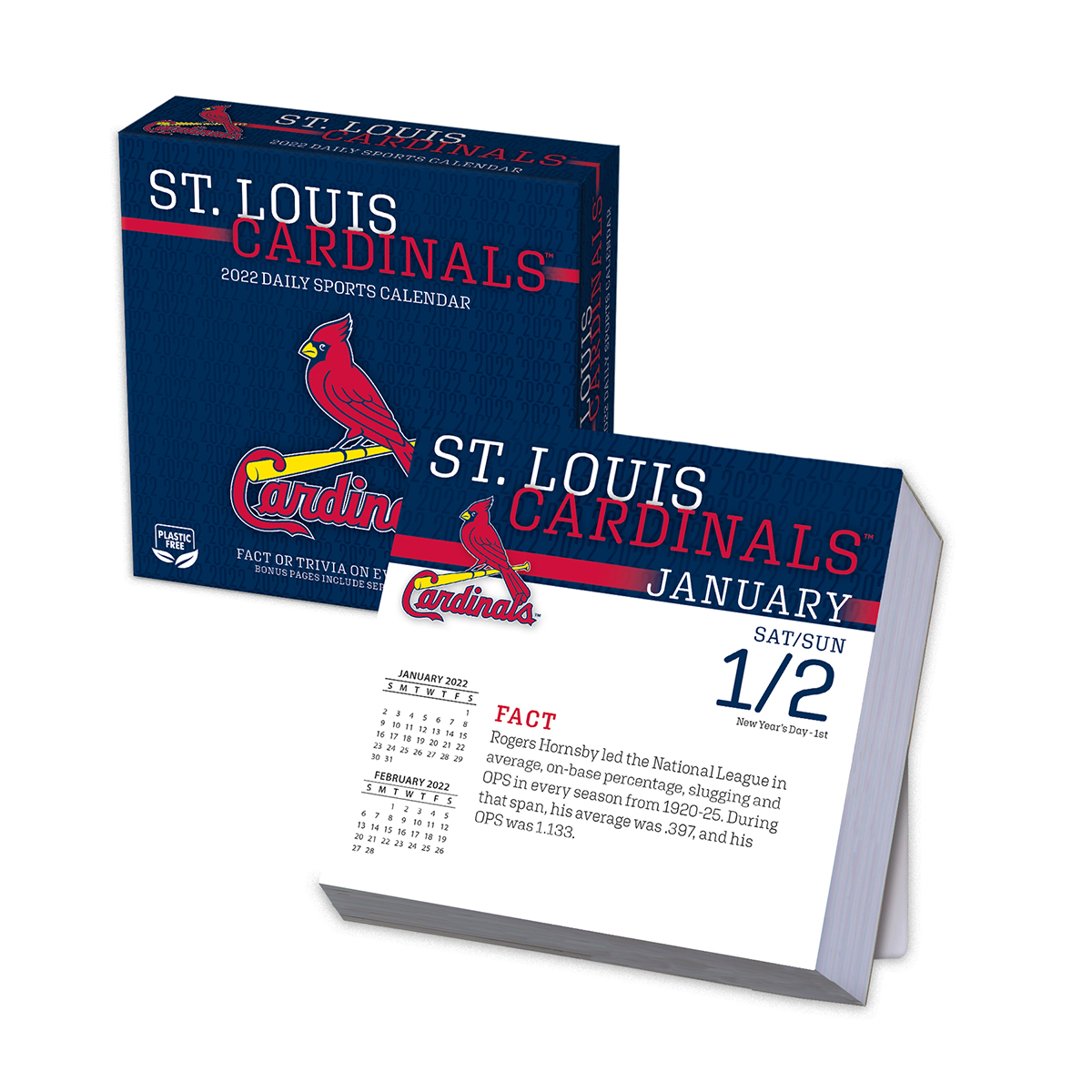 St. Louis Cardinals 2021 Page-A-Day Box Calendar