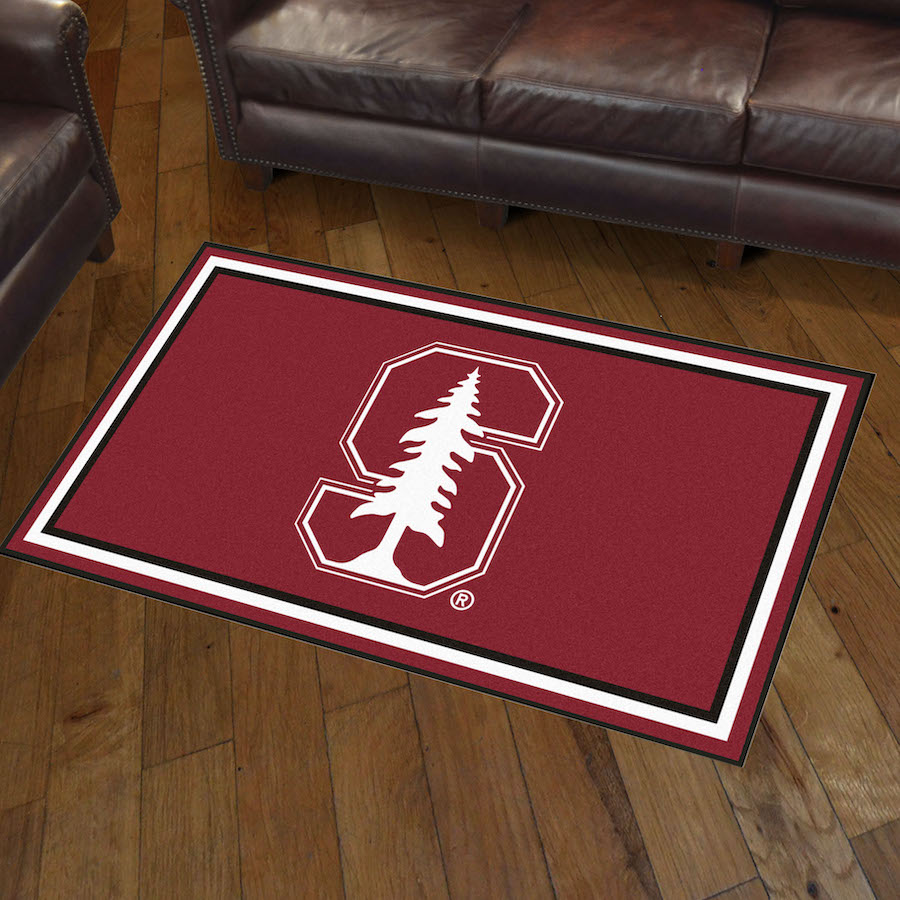 Stanford Cardinal 3x5 Area Rug