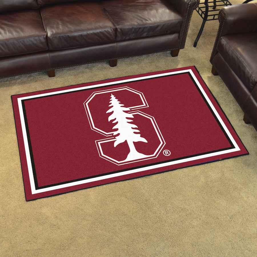 Stanford Cardinal 4x6 Area Rug