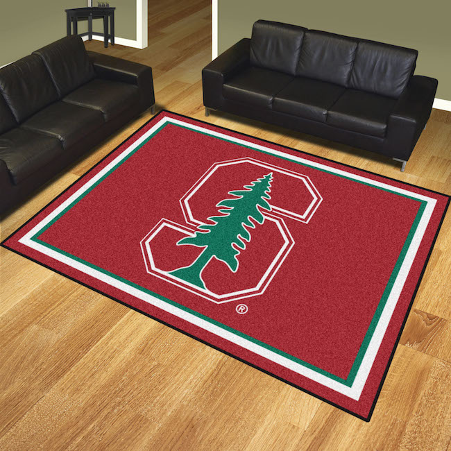 Stanford Cardinal Ultra Plush 8x10 Area Rug