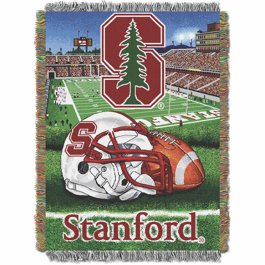 Stanford Cardinal Home Field Advantage Series Tapestry Blanket 48 x 60