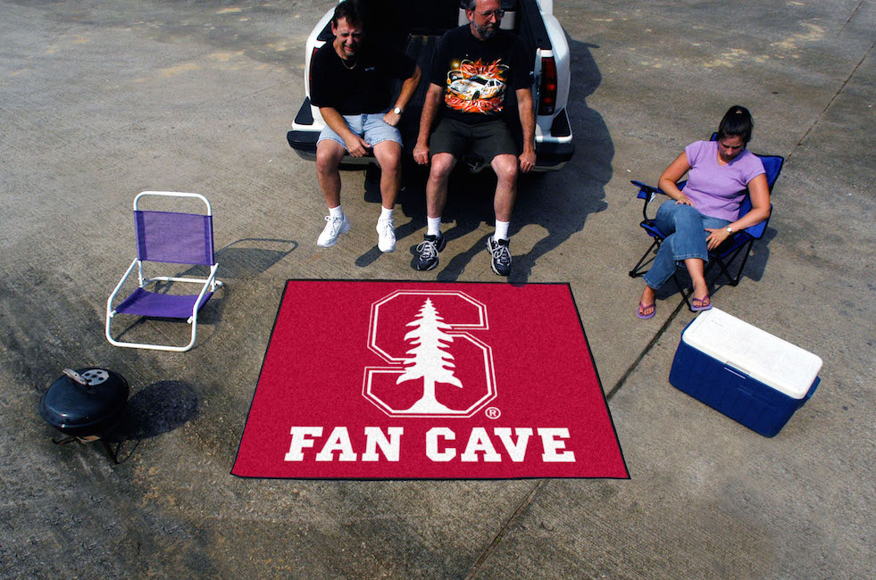 Stanford Cardinal MAN CAVE TAILGATER 60 x 72 Rug
