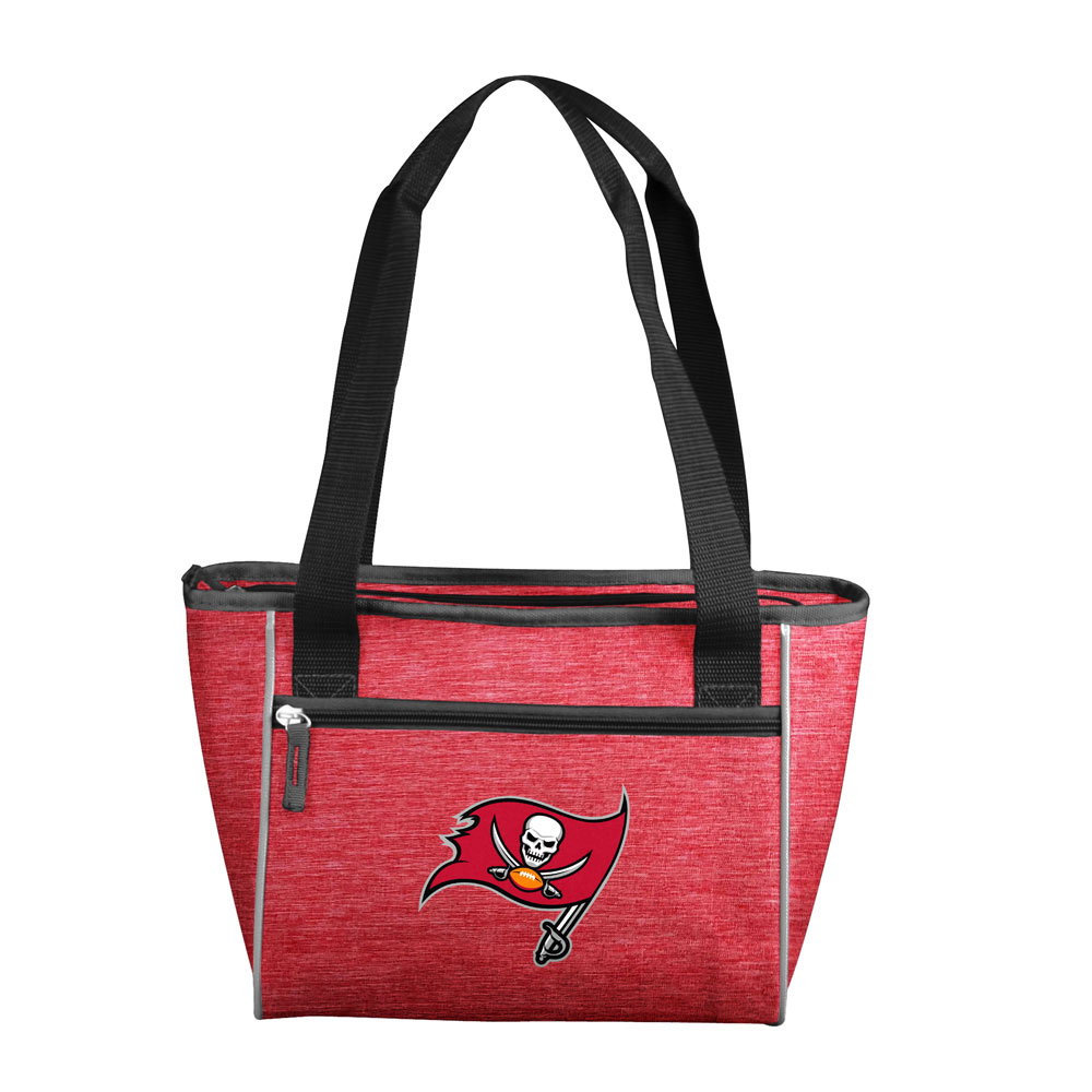 Tampa Bay Buccaneers Crosshatch 16 Can Cooler Tote