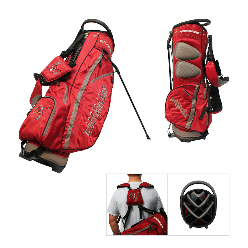 Tampa Bay Buccaneers Fairway Carry Stand Golf Bag