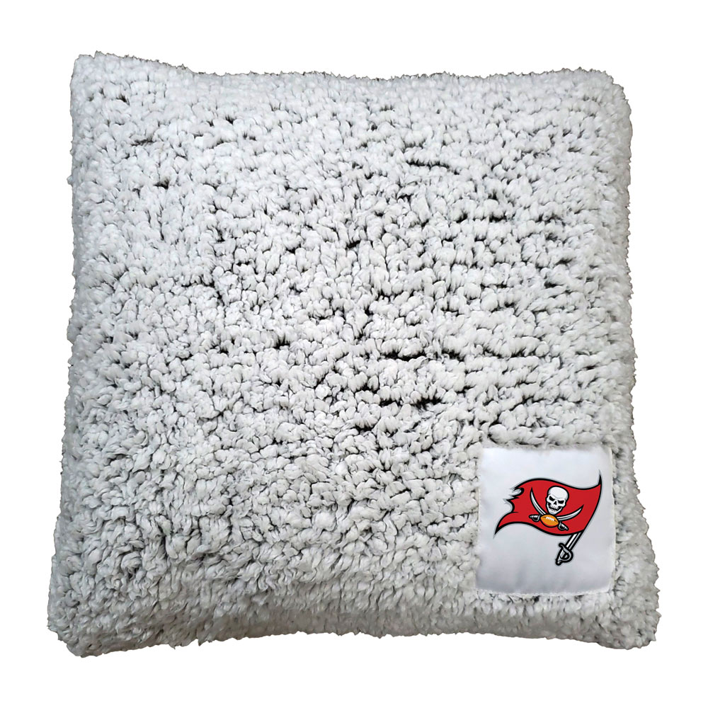 Tampa Bay Buccaneers Frosty Throw Pillow
