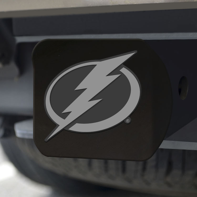 Tampa Bay Lightning BLACK Trailer Hitch Cover