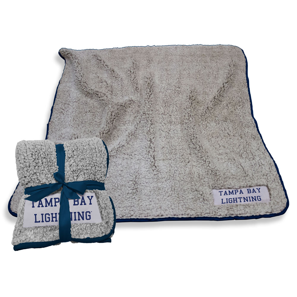 Tampa Bay Lightning Frosty Throw Blanket