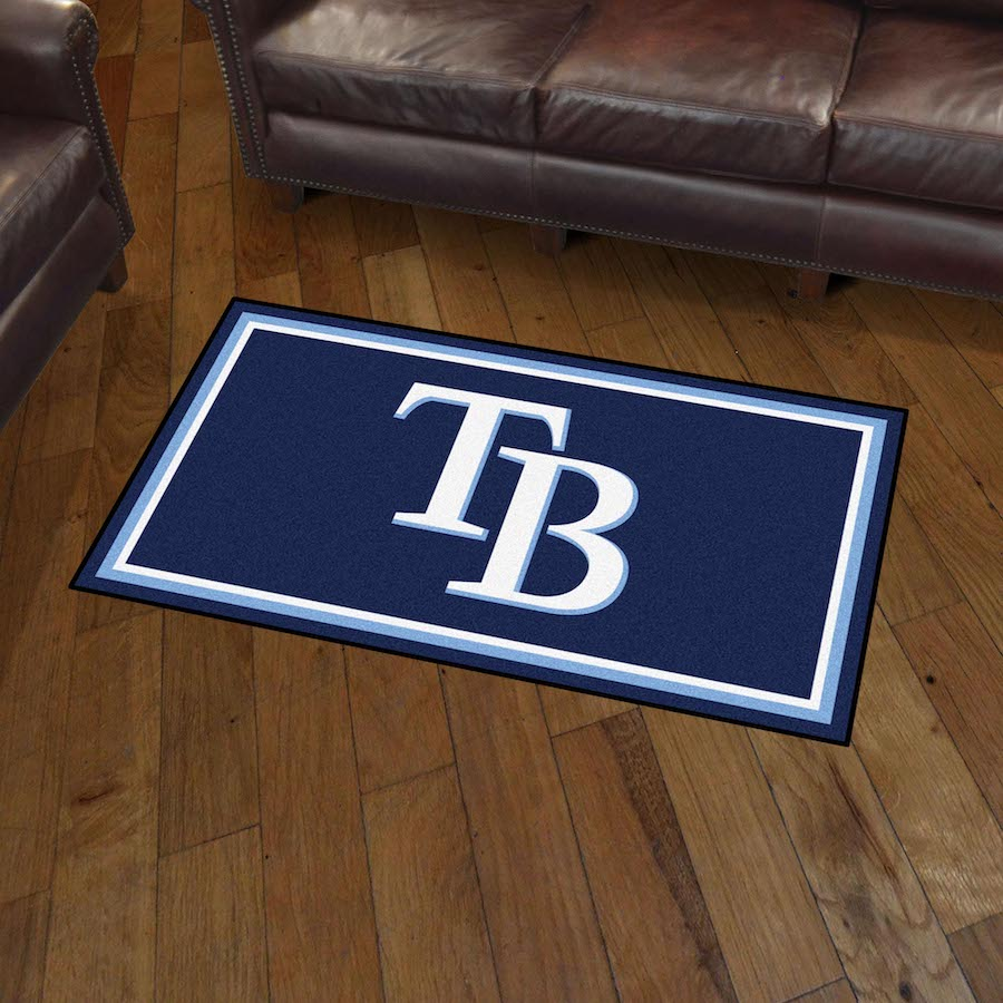 Tampa Bay Rays 3x5 Area Rug