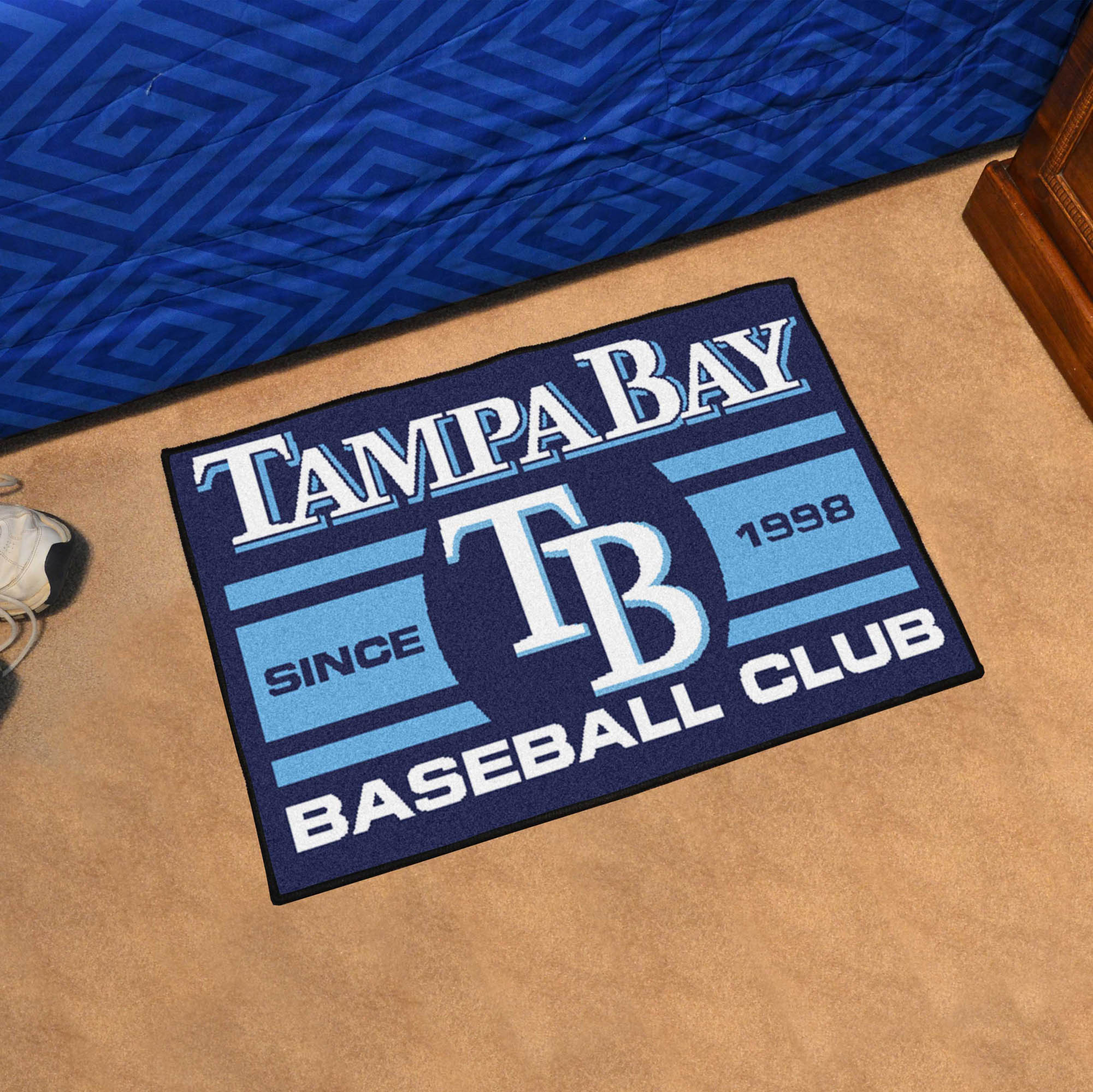 Tampa Bay Rays 20 x 30 Uniform STARTER Floor Mat
