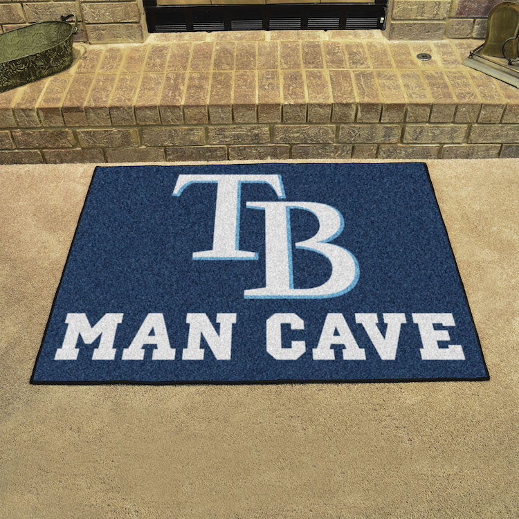 Tampa Bay Rays ALL STAR 34 x 45 MAN CAVE Floor Mat
