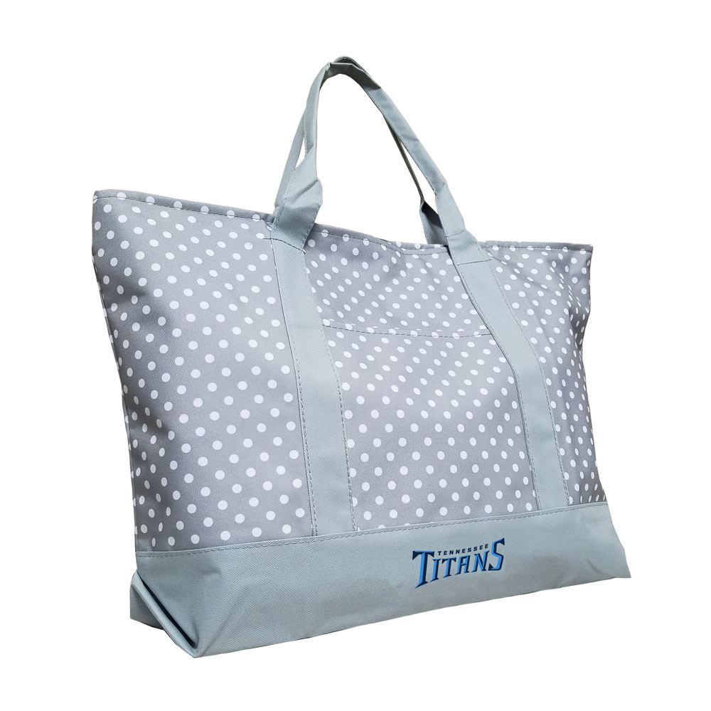 Tennessee Titans Dot Tote Bag