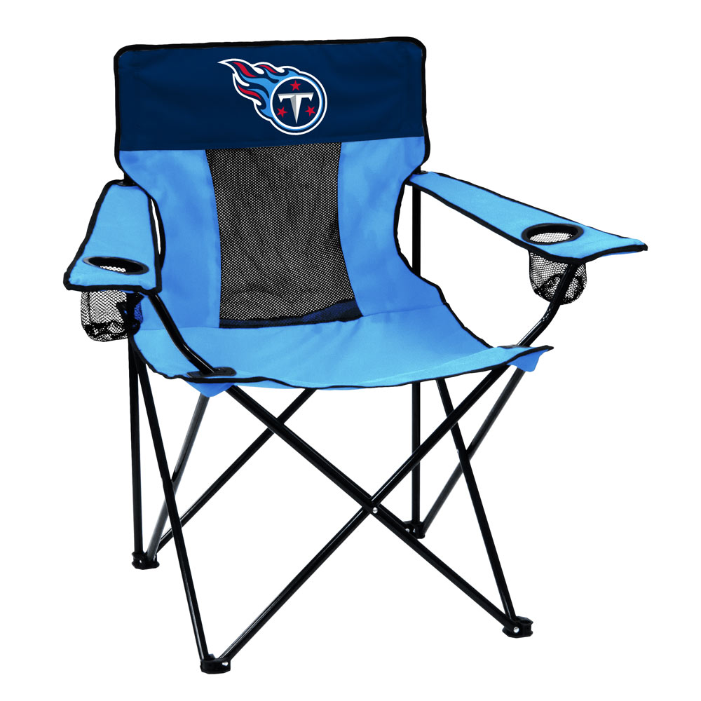 Tennessee Titans ELITE logo folding camp style chair
