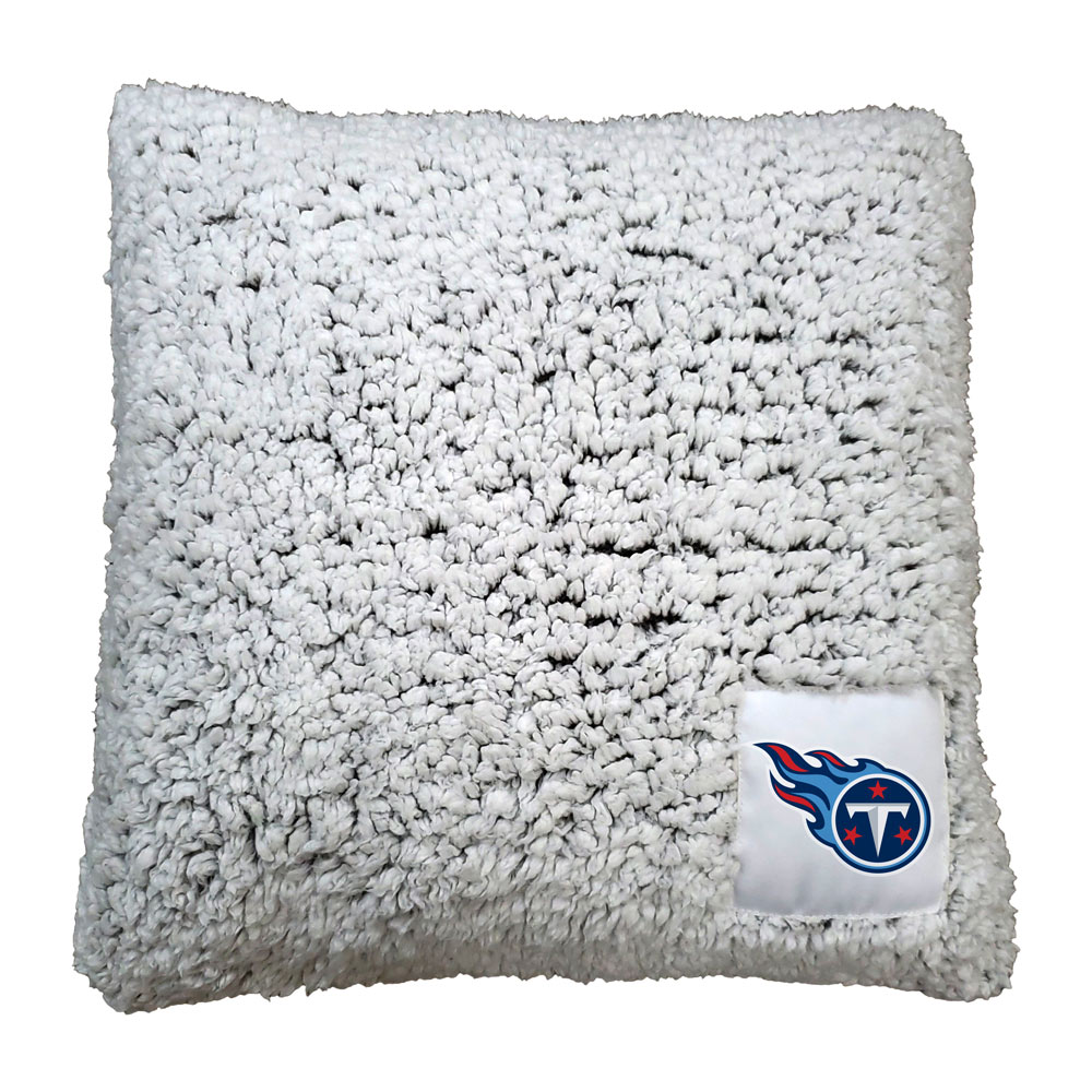 Tennessee Titans Frosty Throw Pillow