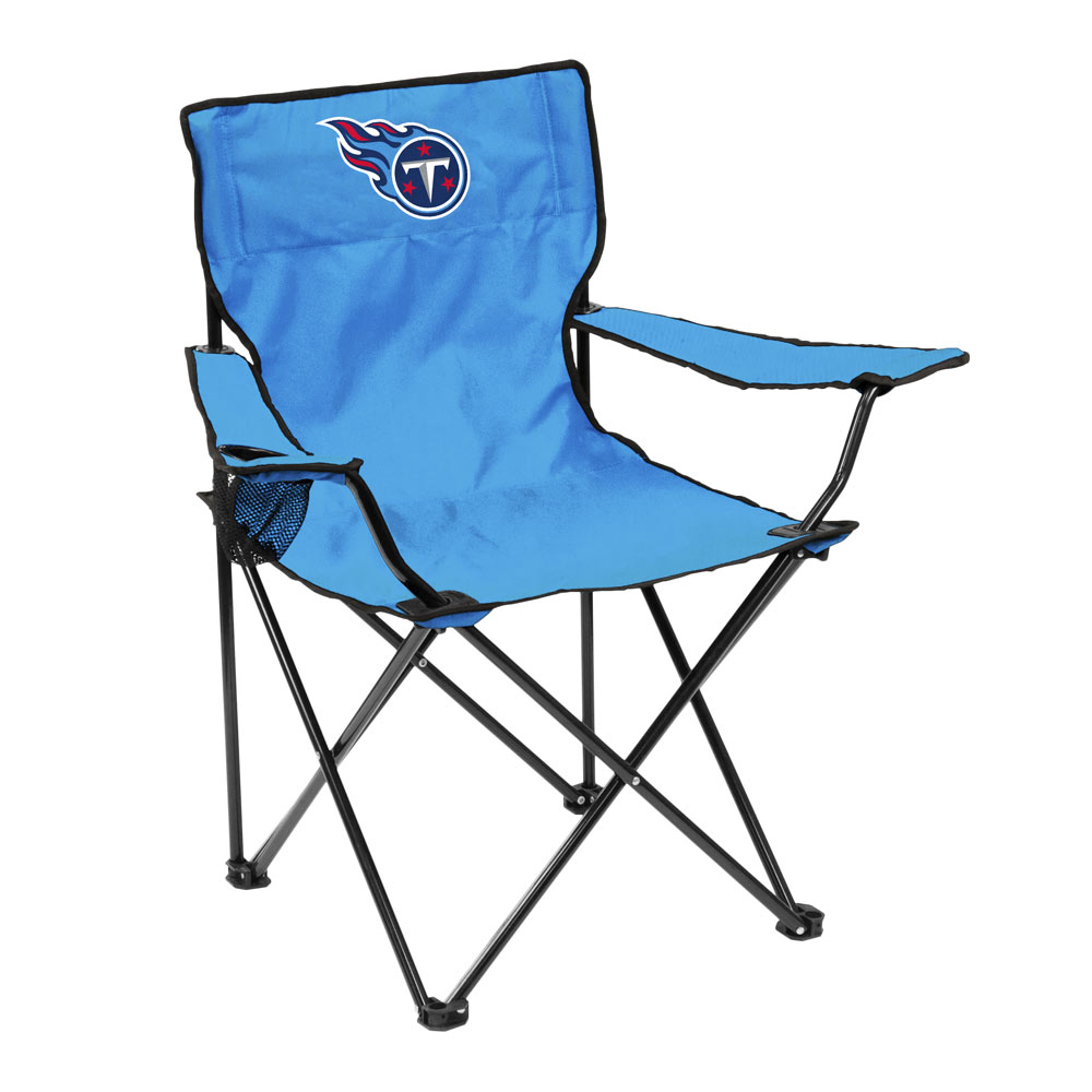 Tennessee Titans QUAD style logo folding camp chair
