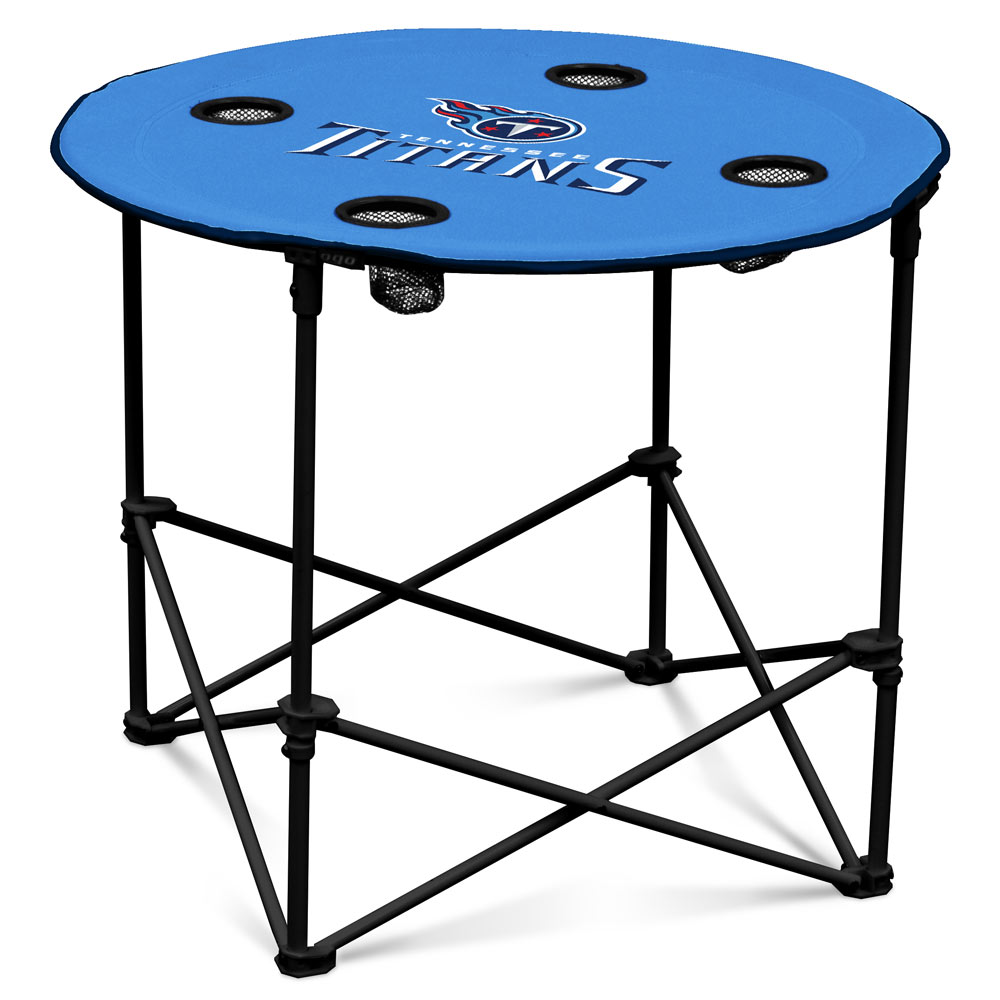 Tennessee Titans Round Tailgate Table
