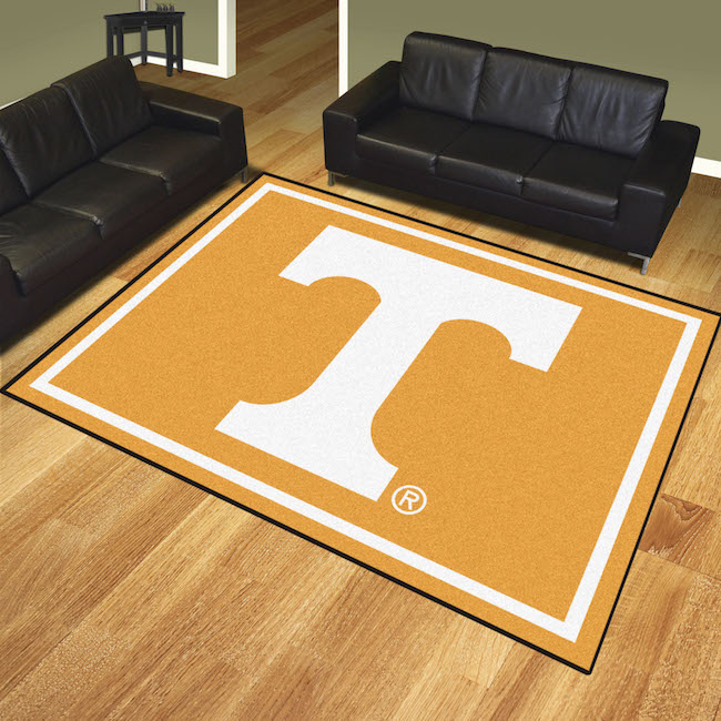 Tennessee Volunteers Ultra Plush 8x10 Area Rug Buy At