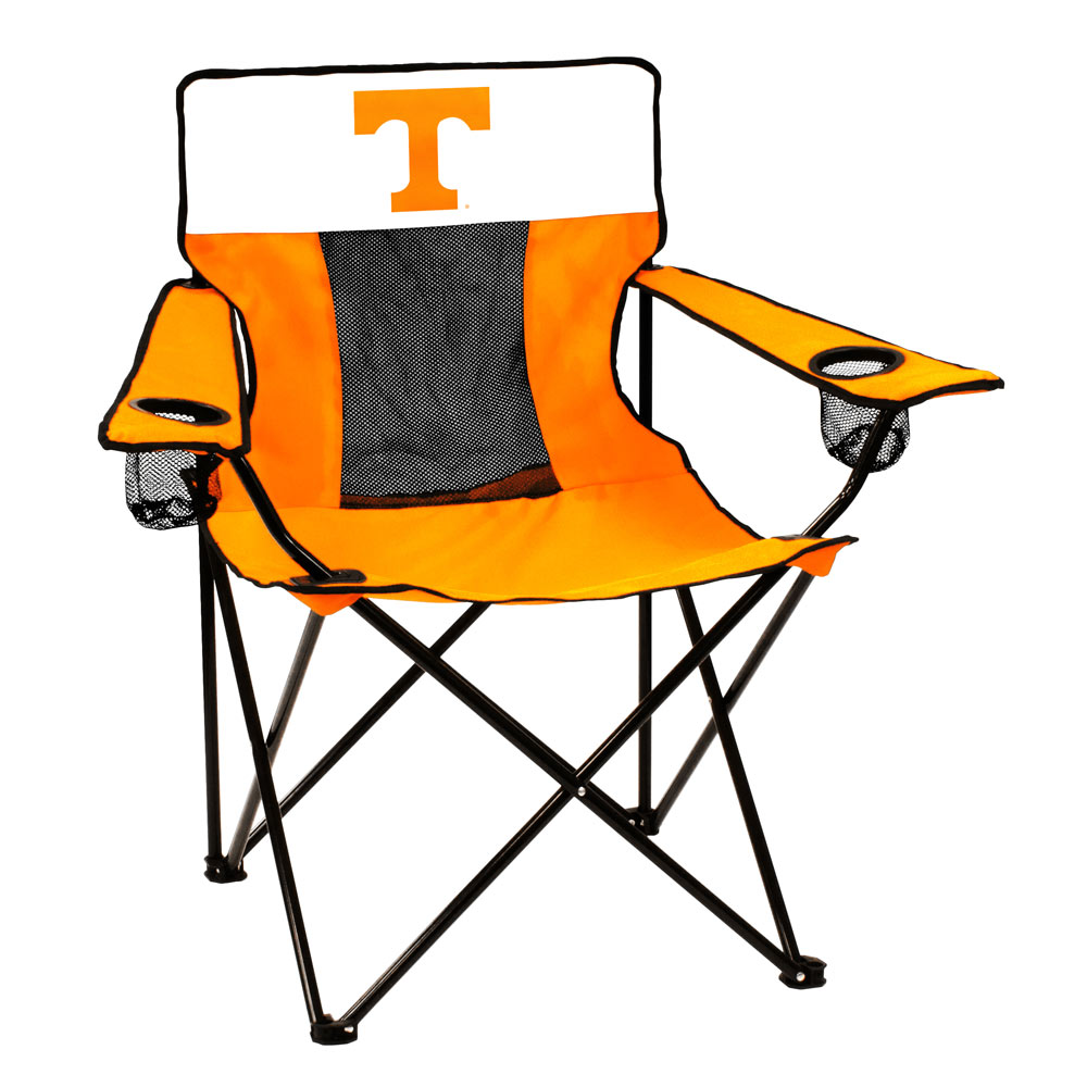 Tennessee Volunteers ELITE logo folding camp style chair