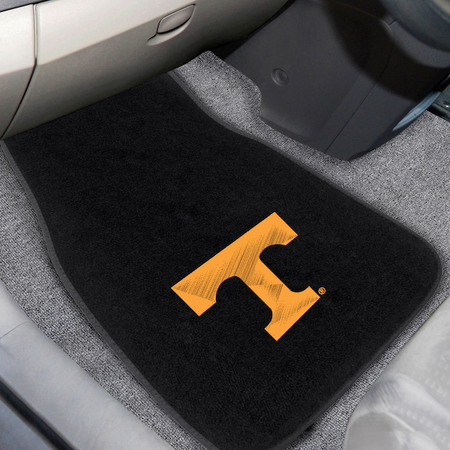 Tennessee Volunteers Car Floor Mats 17 x 26 Embroidered Pair