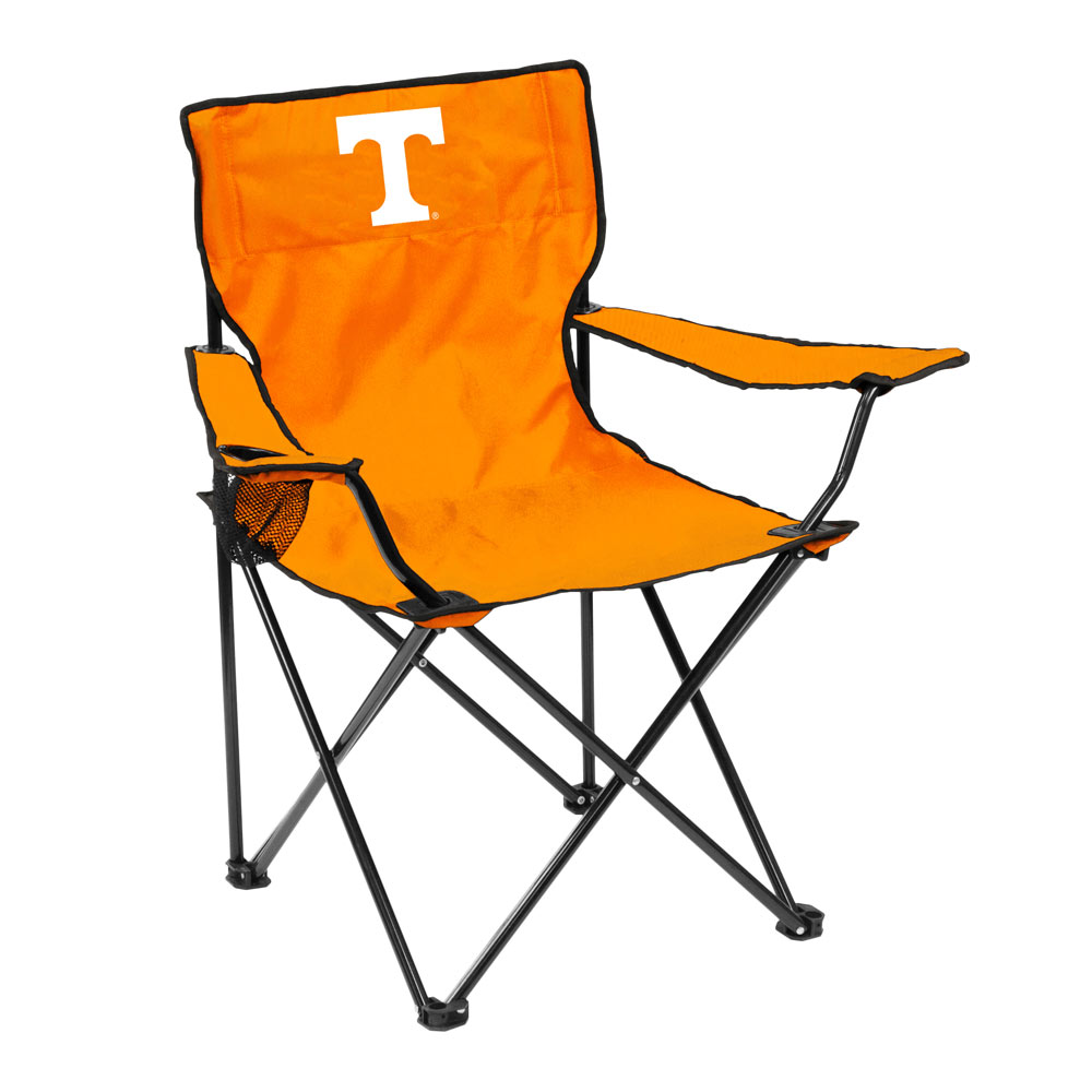 Tennessee Volunteers QUAD style logo folding camp chair