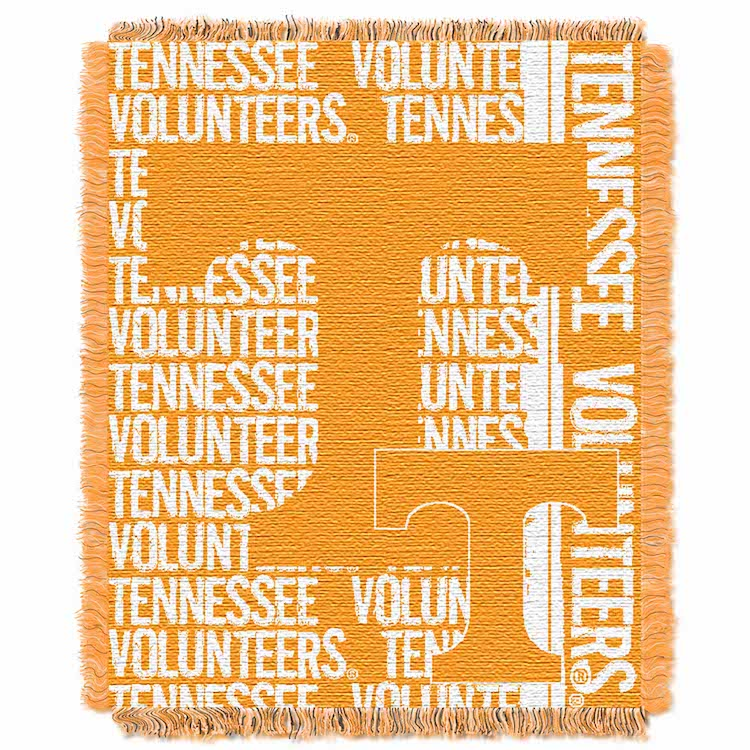 Tennessee Volunteers Double Play Tapestry Blanket 48 x 60