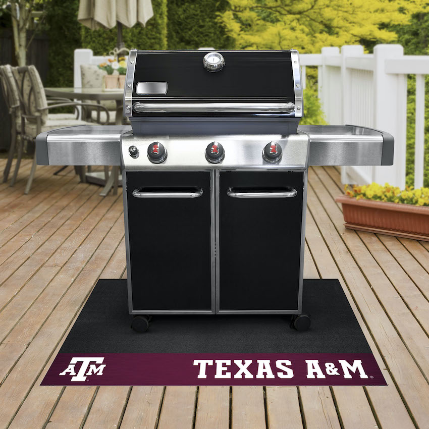 Texas A&M Aggies NCAA Grill Mat