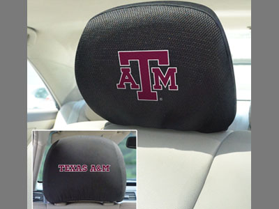 Texas A&M Aggies Head Rest Covers