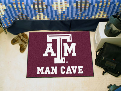 Texas A&M Aggies MAN CAVE 20 x 30 STARTER Floor Mat