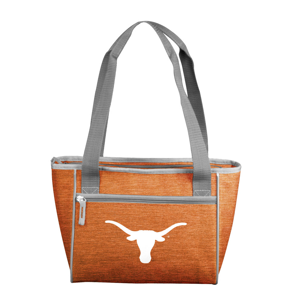 Texas Longhorns Crosshatch 16 Can Cooler Tote