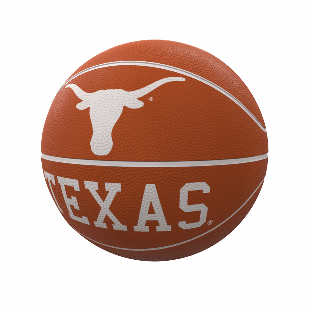 Texas Longhorns Official Size RUBBER Basketball