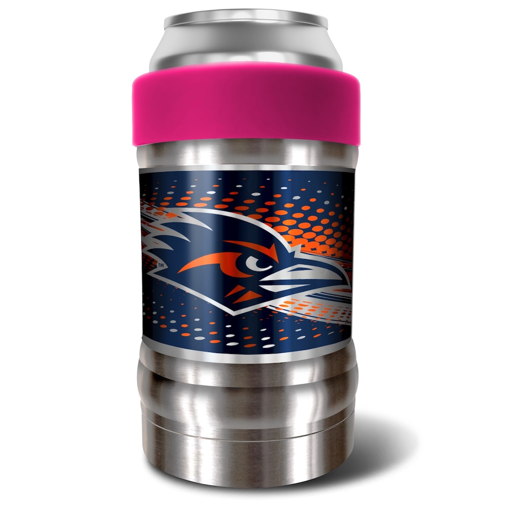 Texas San Antonio Road Runners LOCKER NCAA Insulated Can and Bottle Holder - Pink